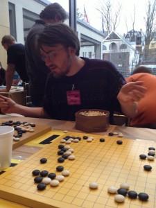 Evan teaches Go