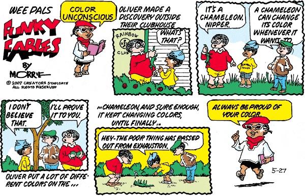 Remembering Morrie Turner: Cartoonist and Friend