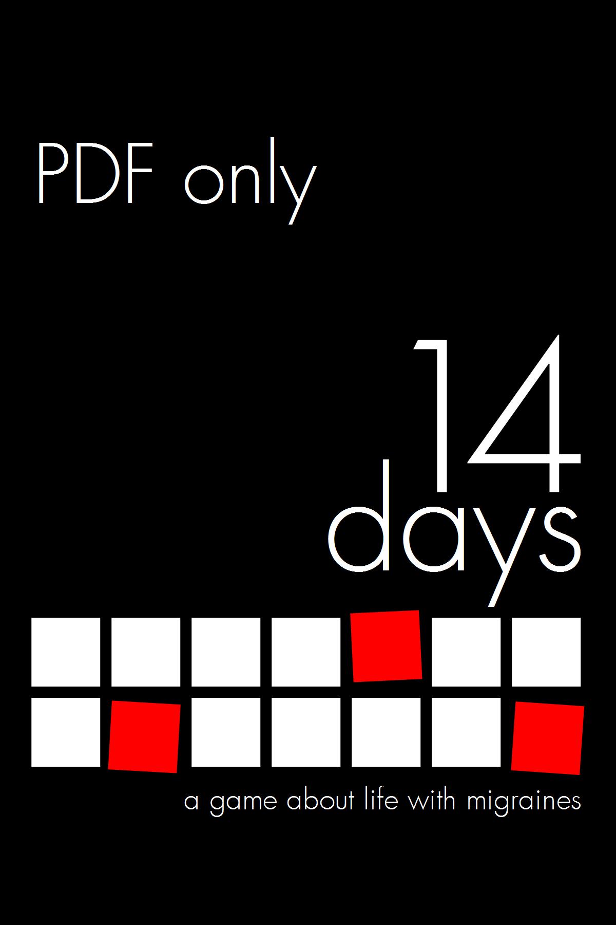 14 Days (PDF – $10)   Make Big Things