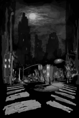 Noirlandia chapter page - crimescene