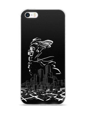 Lady in Noir (iPhone Case)