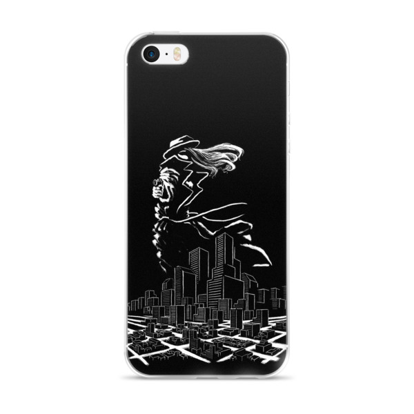 Lady in Noir (iPhone Case)