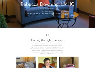 Rebecca Downing Website
