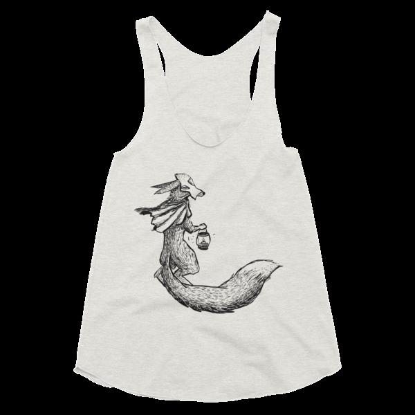 Sneaky Fox (Women's Racerback Tank)