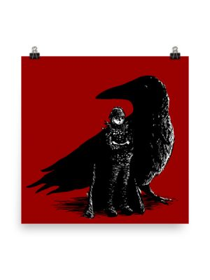 Raven Prince – Art Print