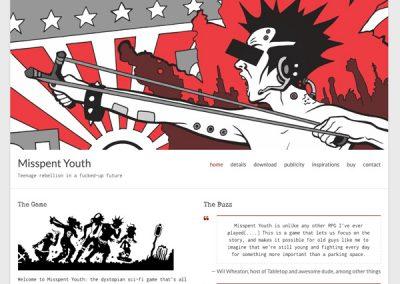 Misspent Youth Website